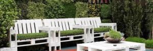 Мебель из поддонов — идеи для дома и сада