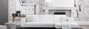 Тенденции дизайна интерьера: диван в гостиной в скандинавском стиле