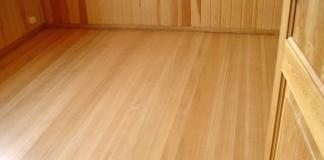 Защита напольного покрытия из лиственницы и способы устранения повреждений