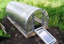 Как построить парник на даче?