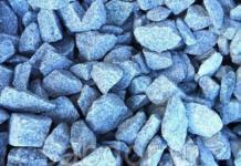 Гранитный щебень как заполнитель для бетонной смеси