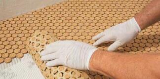 Этапы укладки пробкового покрытия